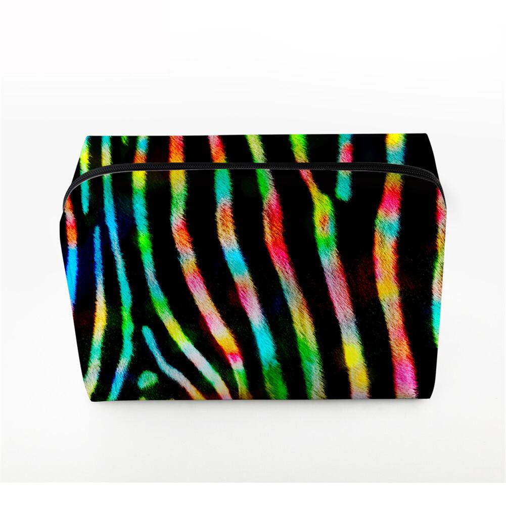 PhoRock Women Cosmetic Bag 3D Leopard Printed Handbag HZB3D008 3