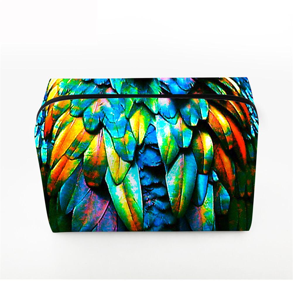 PhoRock Women Cosmetic Bag 3D Leopard Printed Handbag HZB3D008 5