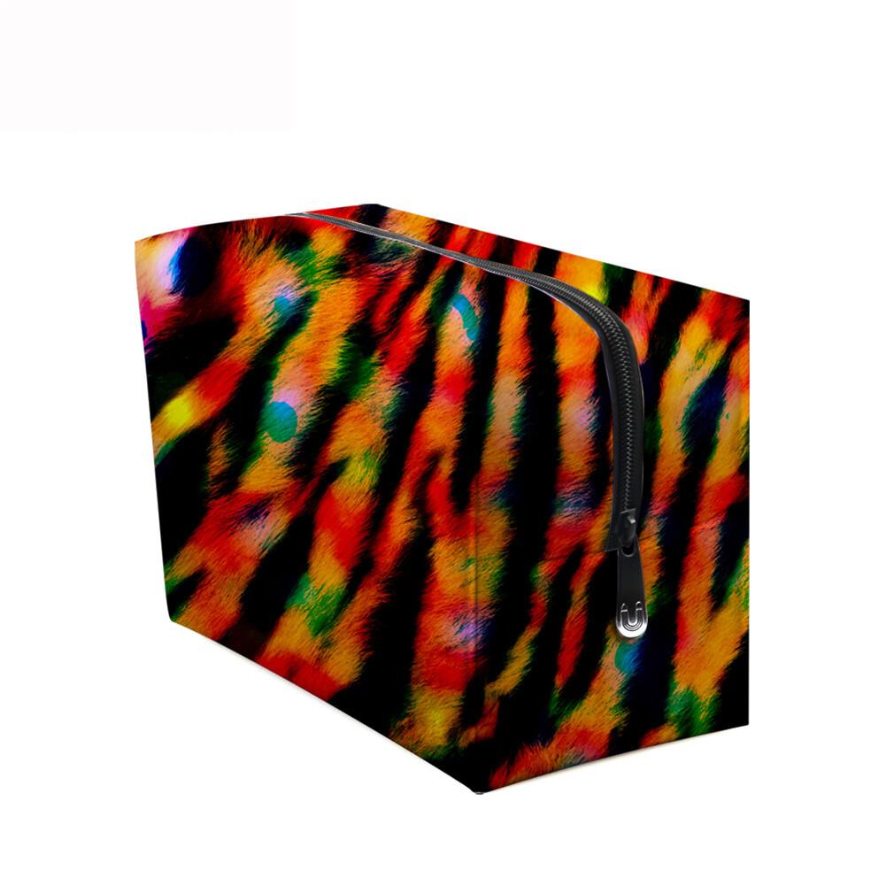 PhoRock Women Cosmetic Bag 3D Leopard Printed Handbag HZB3D008 9