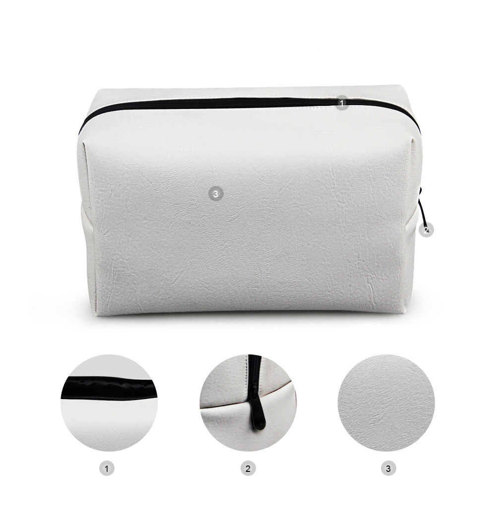 PhoRock Women Cosmetic Bag 3D Leopard Printed Handbag HZB3D008 15