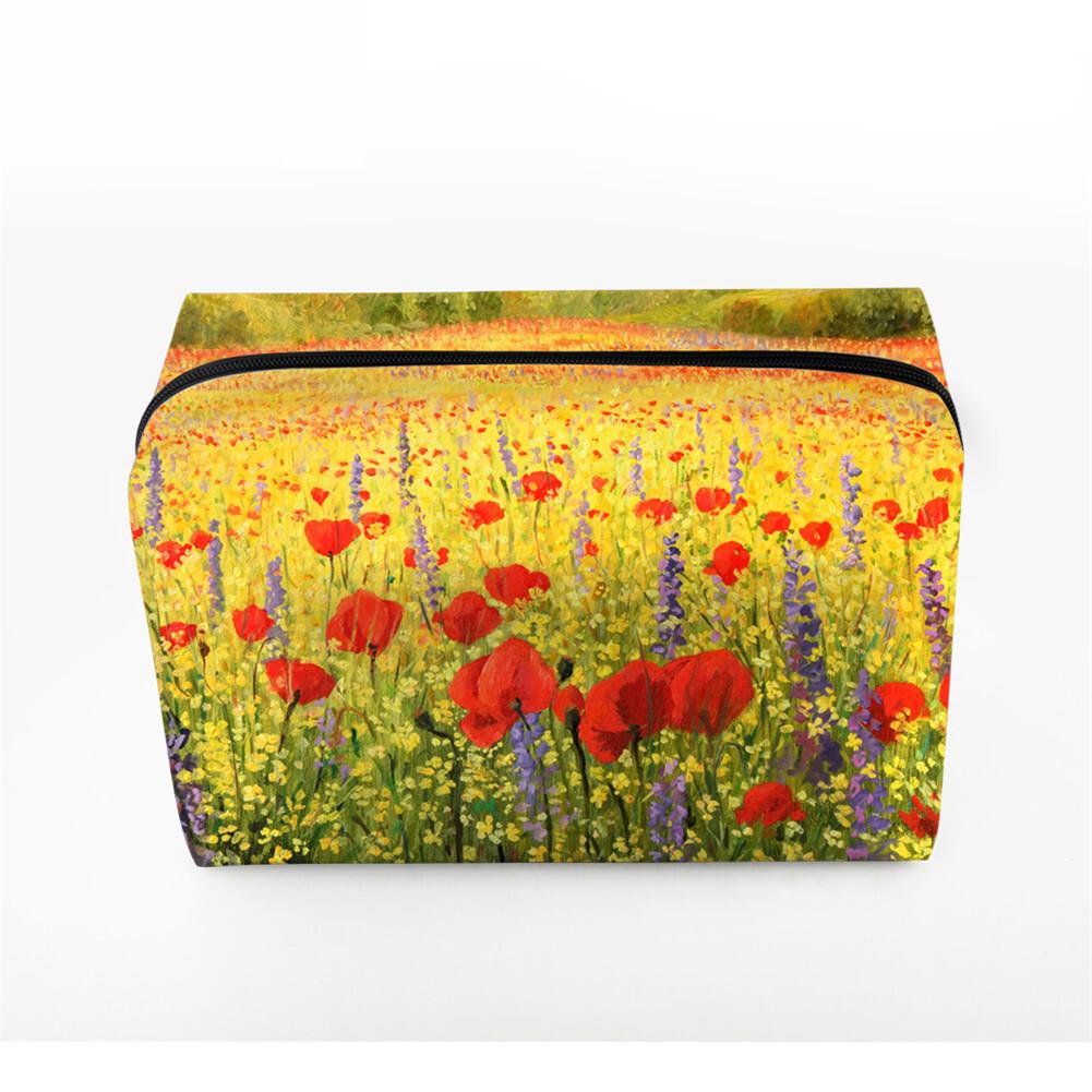 PhoRock Women Cosmetic Bag 3D Paysage Printed Handbag HZB3D033 2