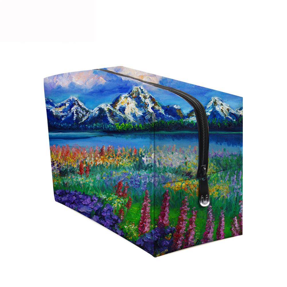 PhoRock Women Cosmetic Bag 3D Paysage Printed Handbag HZB3D033 10