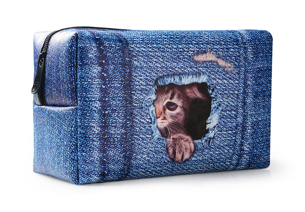 PhoRock Women Cosmetic Bag 3D Paysage Printed Handbag HZB3D033 18