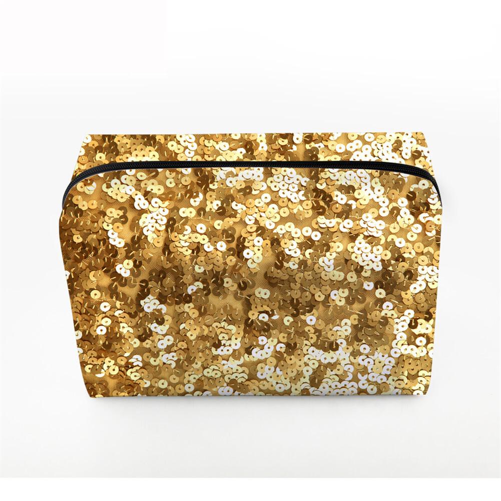 PhoRock Women Cosmetic Bag 3D Sequins Printed Handbag HZB3D018 0