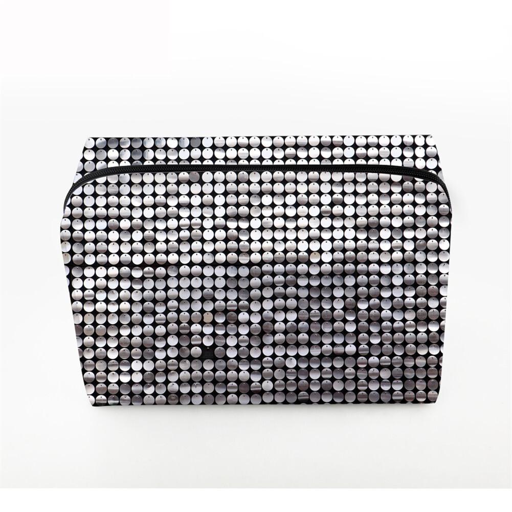 PhoRock Women Cosmetic Bag 3D Sequins Printed Handbag HZB3D018 2
