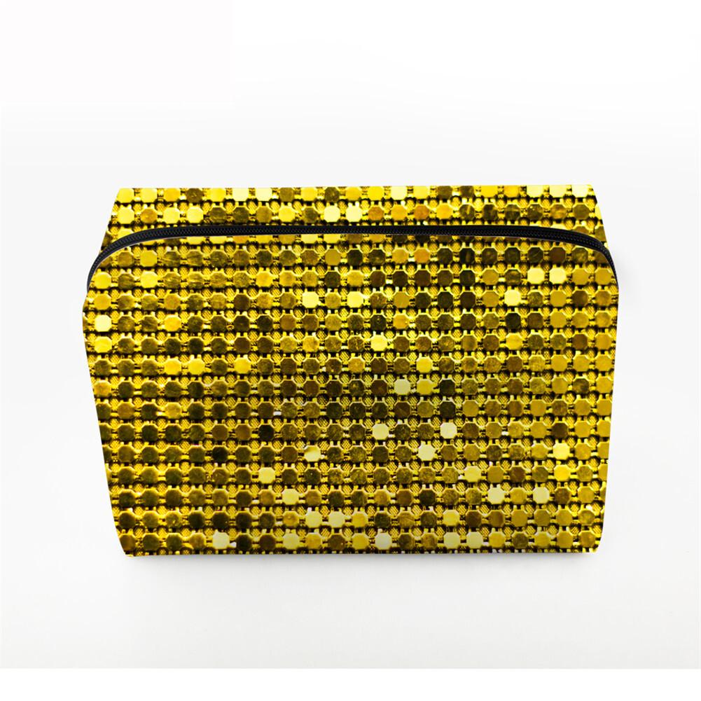 PhoRock Women Cosmetic Bag 3D Sequins Printed Handbag HZB3D018 4