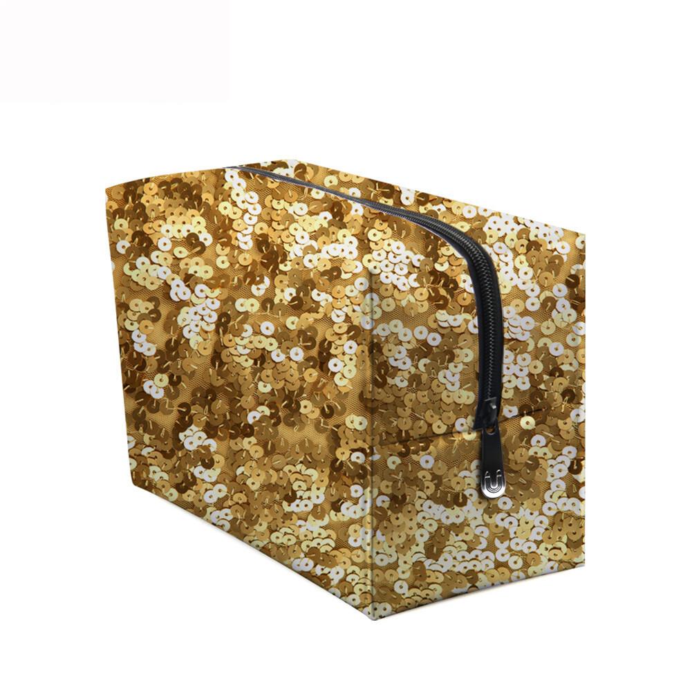 PhoRock Women Cosmetic Bag 3D Sequins Printed Handbag HZB3D018 7