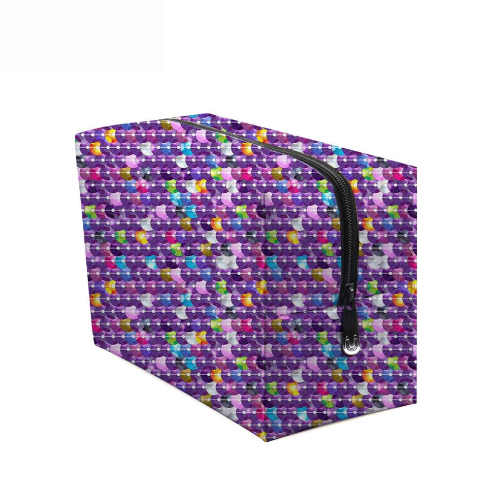 PhoRock Women Cosmetic Bag 3D Sequins Printed Handbag HZB3D018 8