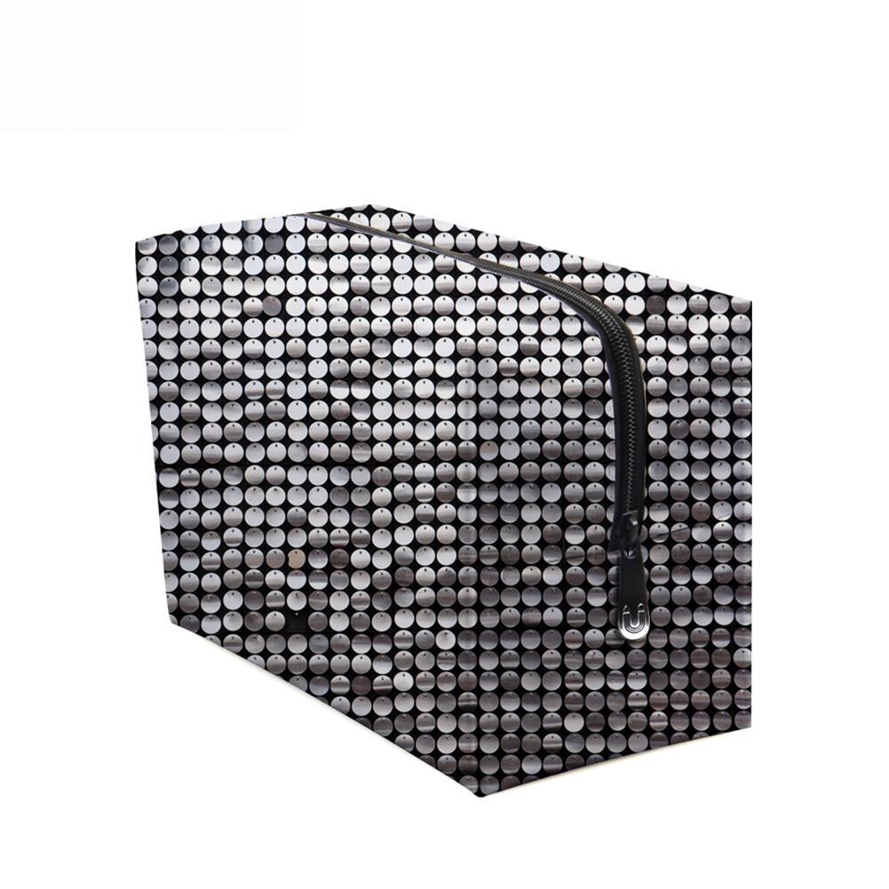 PhoRock Women Cosmetic Bag 3D Sequins Printed Handbag HZB3D018 9