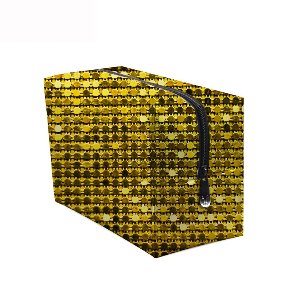 PhoRock Women Cosmetic Bag 3D Sequins Printed Handbag HZB3D018 11