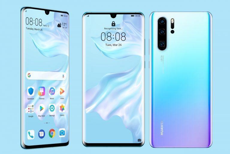Huawei P30 Pro: 50x digital zoom & OLED screen & fingerprint