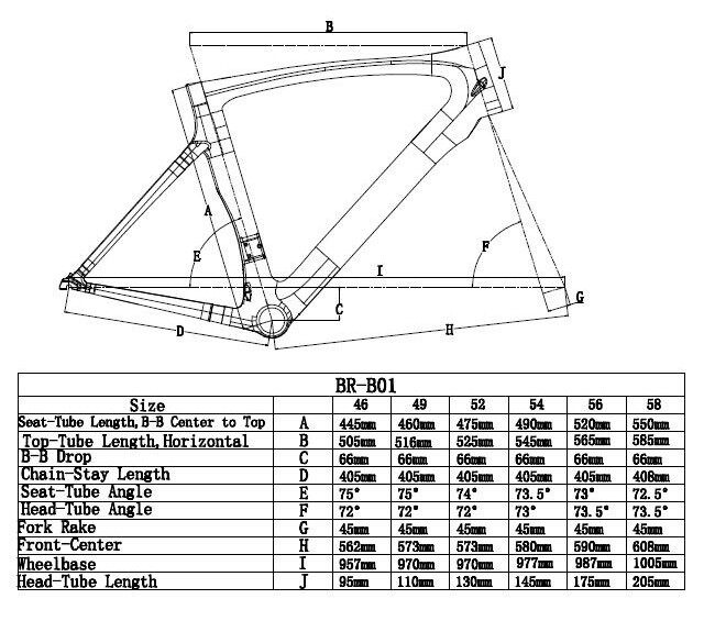 Ridley Noah T1100 Ud Full Carbon Racing Road Frame Bicycle