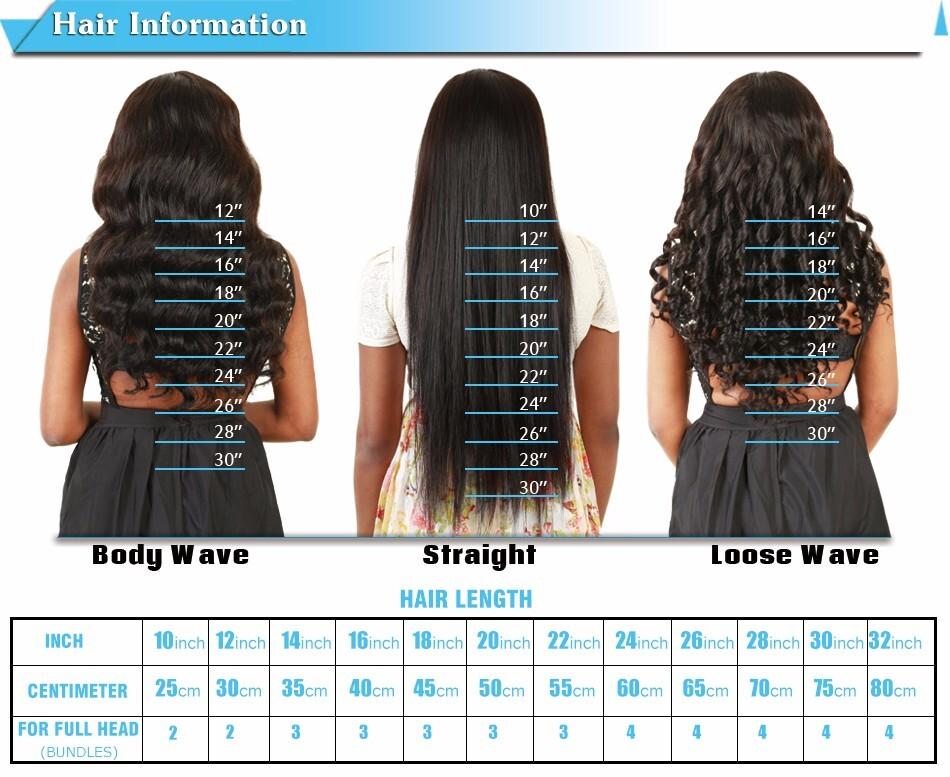 7a Brazilian Virgin Hair Body Wave 4pcs 100g 8 30 Inches