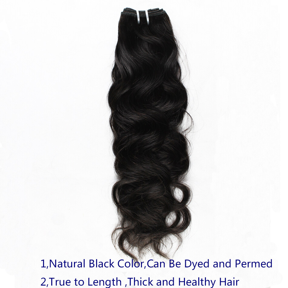 Ali Sky Hair Products Natural Wave Unprocessed Brazilian Virgin Hair