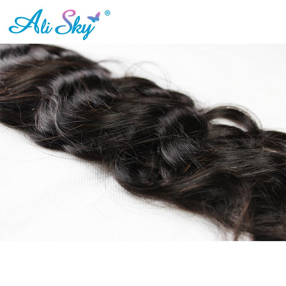 7a Indian Virgin Hair Extensions Natural Wave 4 Bundles Nice Texture