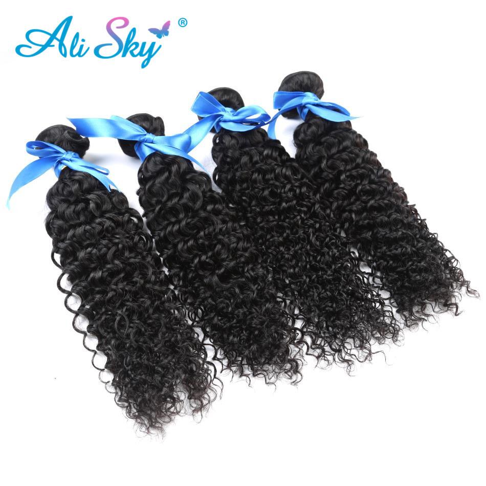 Peruvian Kinky Curly Virgin Hair 4pcs Cheap Peruvian Curly Hair