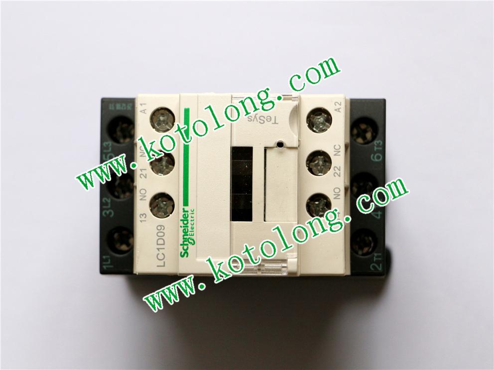 Schneider Contactor 3P LC1D09 LC1D09CC7 LC1-D09CC7 9A 36V AC coil