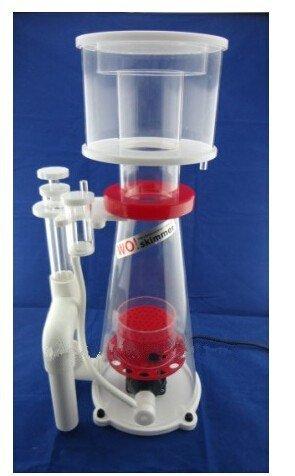 Gowe Saltwater Aquarium Small Needle Wheel Cone DC Protein Skimmer 24V Capacity:300-800L/H 0