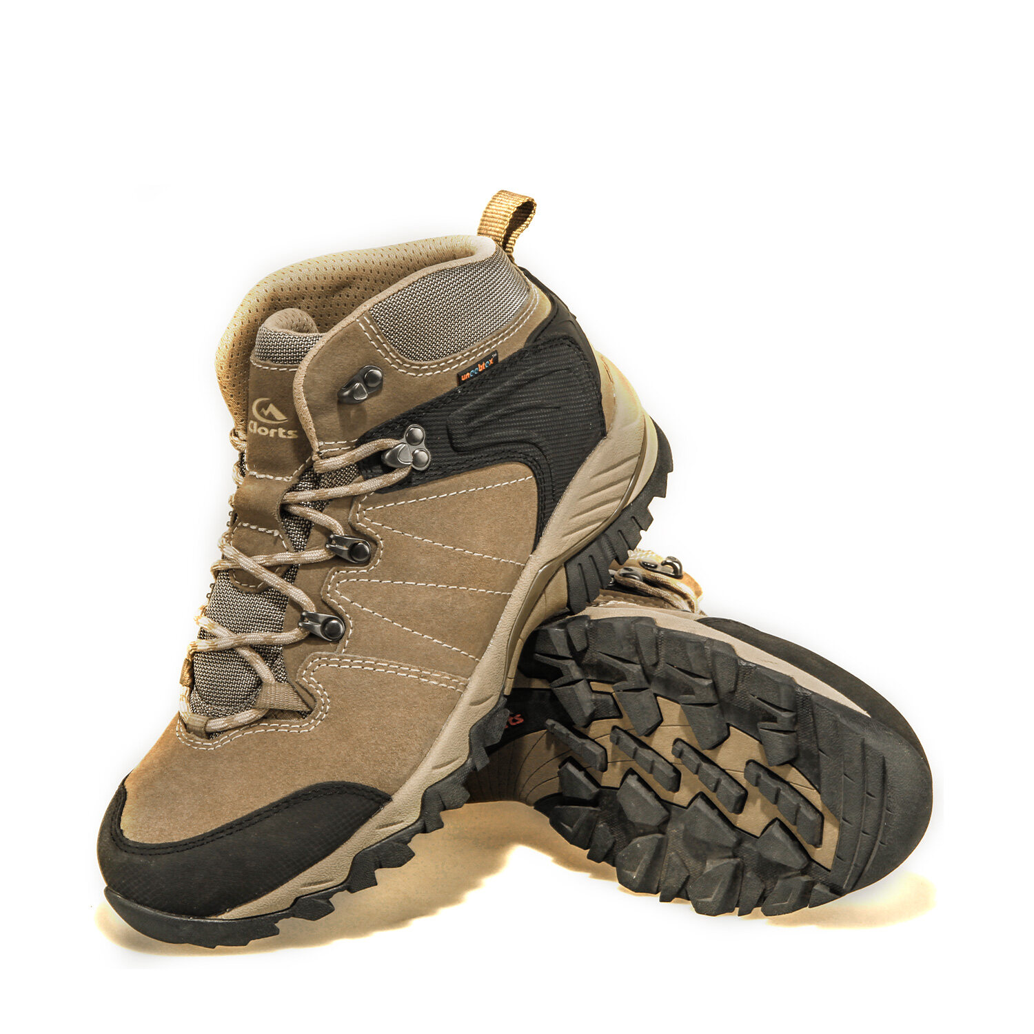 3845c6956bb Clorts Men's Hiker Leather GTX Waterproof Hiking Boot Outdoor Backpacking  Shoe HKM822G