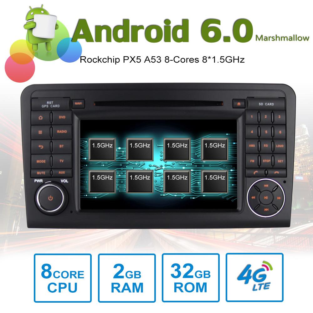 7 android autoradio car stereo gps head unit mercedes. Black Bedroom Furniture Sets. Home Design Ideas