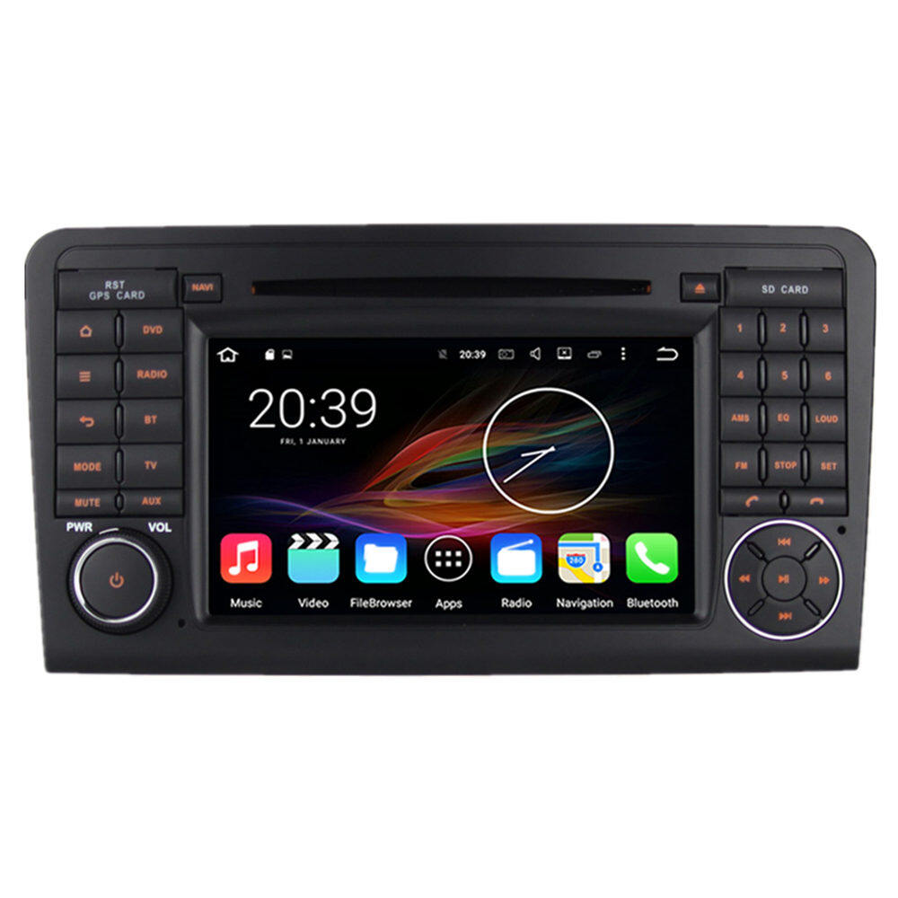 7 Quot Android Car Multimedia Gps Navigation Dvd Radio Audio Mercedes Benz Gl Class X164 Gl320 Gl350