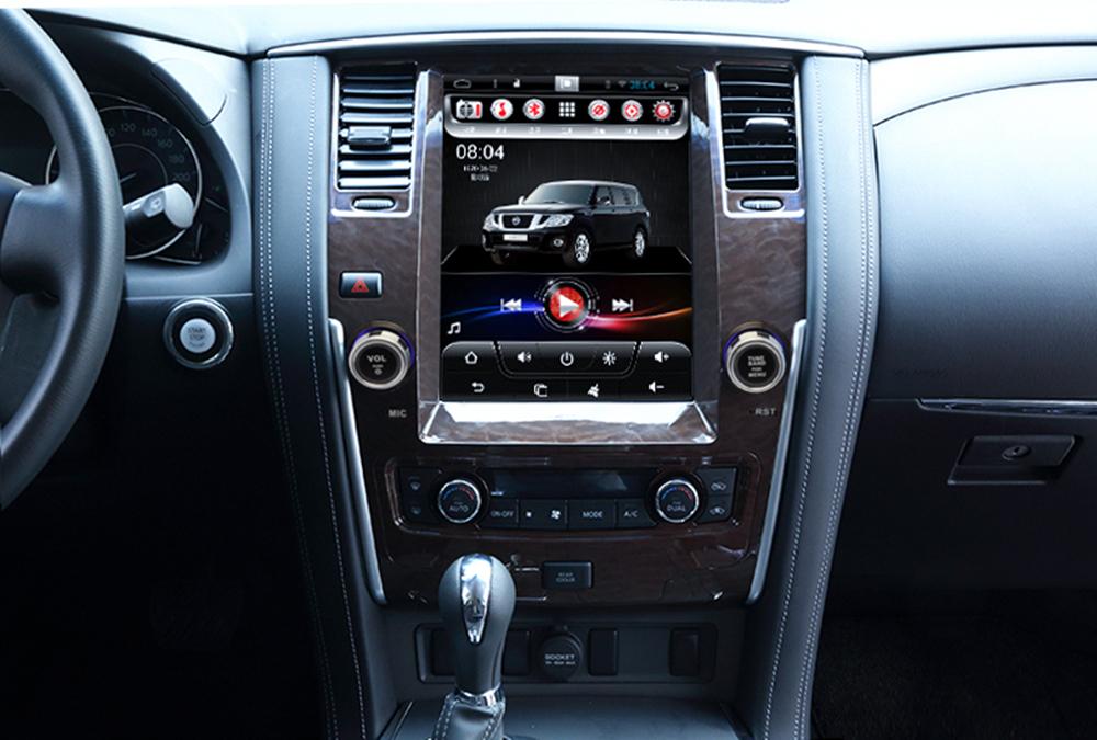"10.4"" Tesla Vertical Screen Android Car Multimedia GPS Navigation DVD Radio Audio for Nissan ..."