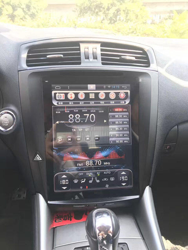 "12.1"" Tesla Vertical Screen Android Headunit Autoradio Head Unit Car Stereo GPS for Lexus IS ..."