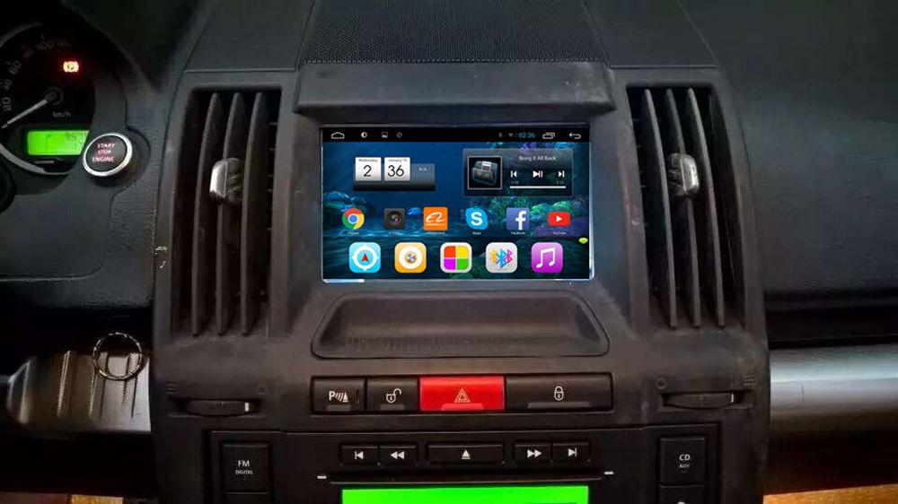 "7"" Android Autoradio Car Stereo Head Unit Discovery Range Rover 2005 2006 2007 2008 2009 2010 ..."