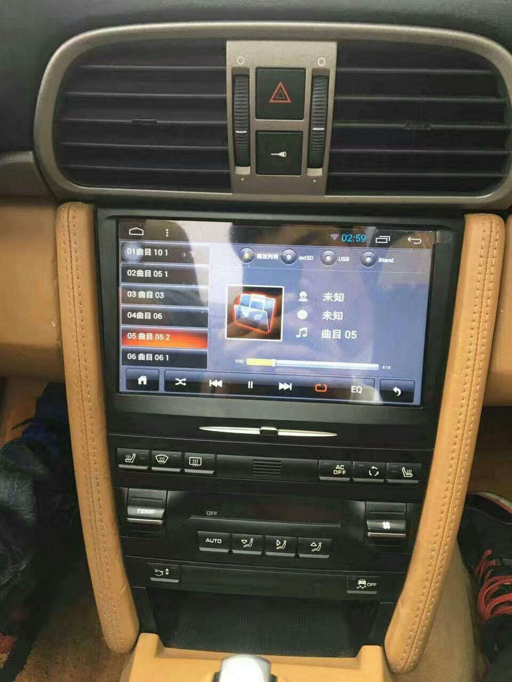 """Car Stereo Shop >> 9"""" Android Car Multimedia GPS Navigation DVD Radio Audio for Porsche Cayman Boxster 911 997 2005 ..."""