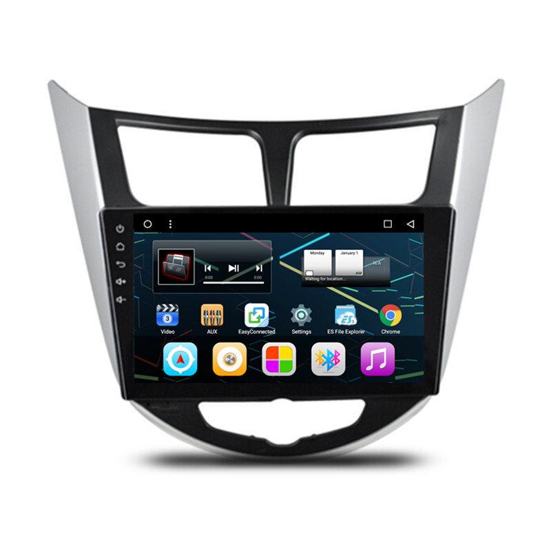 9 Quot Android Autoradio Car Stereo Multimedia Gps Navigation Dvd Radio Audio Head Unit Hyundai
