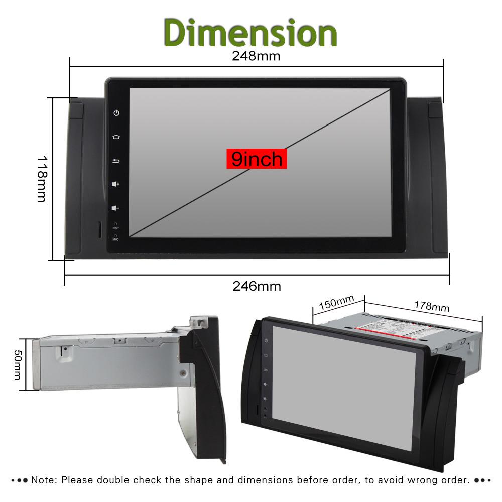 "9"" Android Car Multimedia Stereo GPS Navigation DVD Radio"