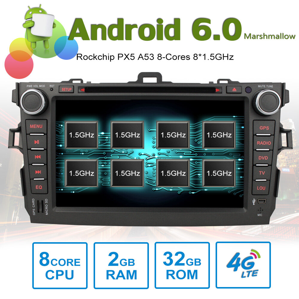 8 android autoradio car multimedia stereo gps navigation. Black Bedroom Furniture Sets. Home Design Ideas