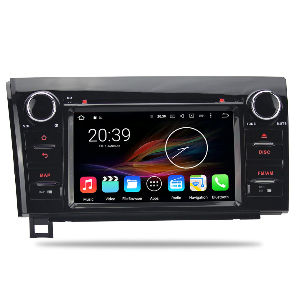 7 android autoradio car stereo audio head unit toyota. Black Bedroom Furniture Sets. Home Design Ideas