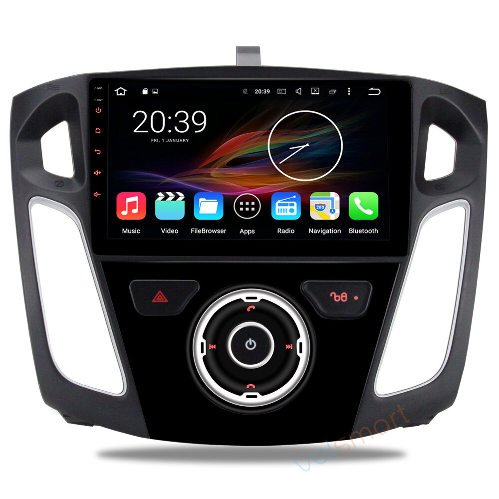9 android autoradio car multimedia stereo gps navigation dvd radio audio head unit ford focus 3. Black Bedroom Furniture Sets. Home Design Ideas