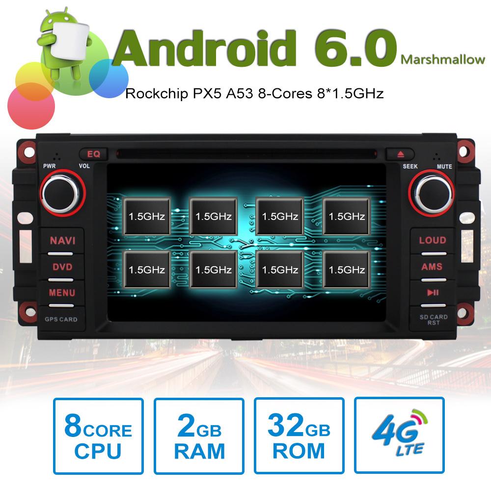 """Chrysler 300 300c 2006 2d Small Dash Kit: 6.2"""" Android Autoradio Car Stereo GPS Head Unit Chrysler"""