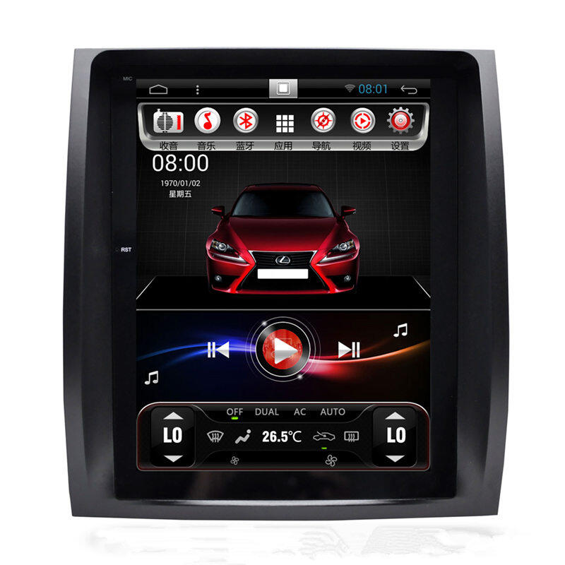 10 4 Quot Tesla Vertical Screen Android Autoradio Car Stereo Gps Head Unit Sat Nav Lexus Gx470 Gx