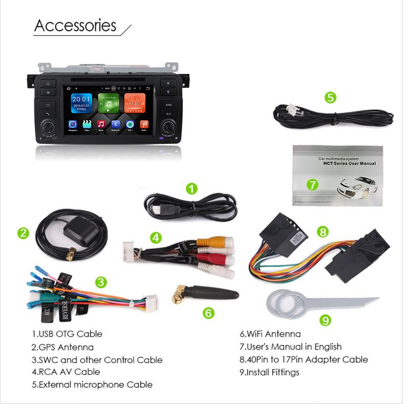 "9"" Android 8.0 4GB RAM Car Radio Audio Sat Nav Head Unit"