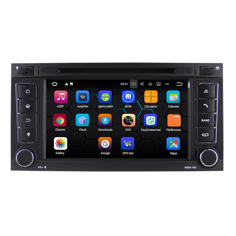7 android car radio audio sat nav head unit for vw. Black Bedroom Furniture Sets. Home Design Ideas