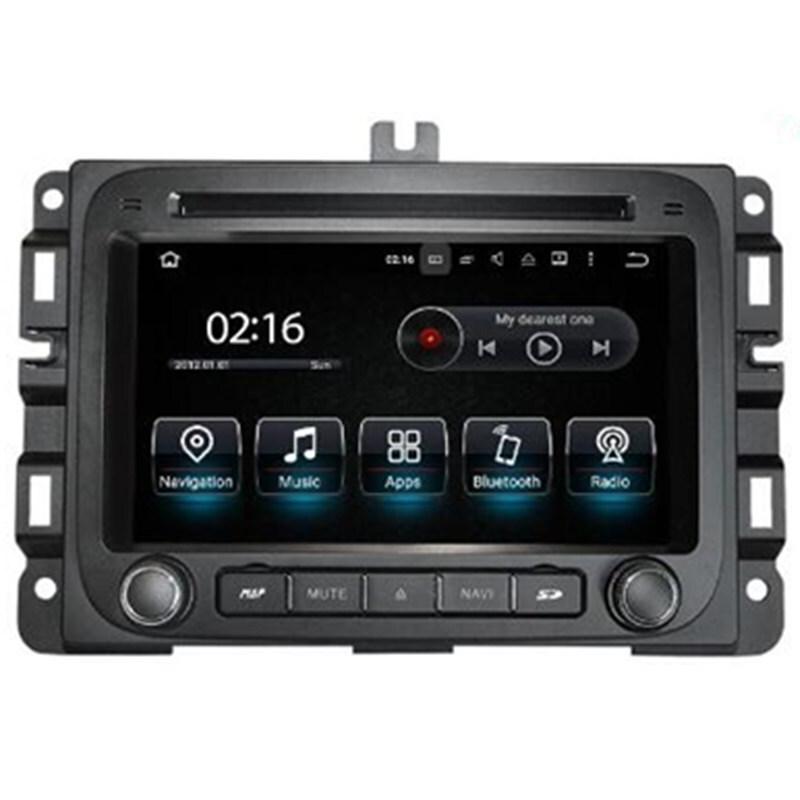 "7"" Android Car Multimedia Stereo GPS Navigation DVD Radio Audio Sat Nav Head Unit Dodge RAM 1500 ..."