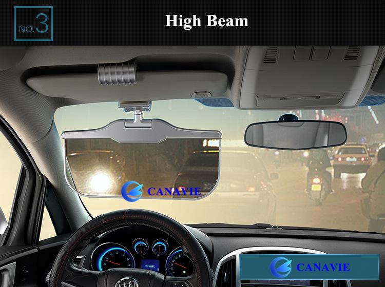 Intelligent Smart Lcd Dimmer Solar Car Sun Visor Sunvisor