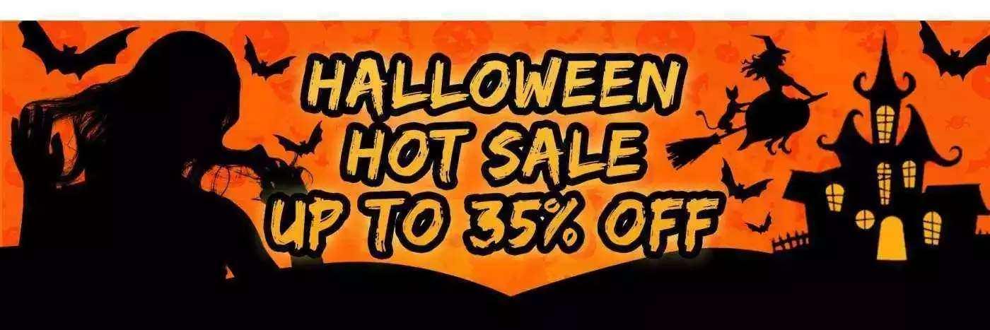 halloween 35% off