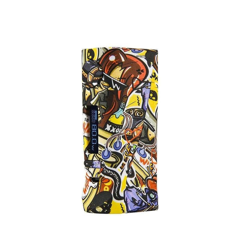 Wholesale Vapor Storm ECO Pro 80W TC Box Mod with Graffiti Series Design
