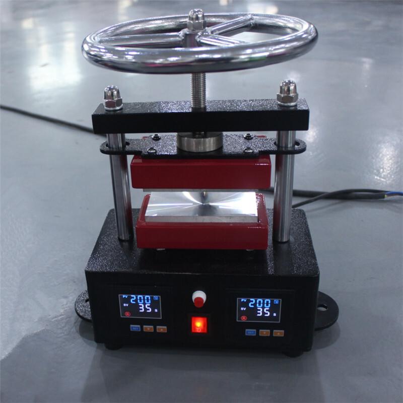 1ton Manual Rosin Press Machine with Handwheel CK220