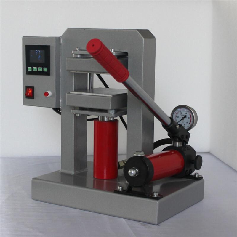10Tons Manual Hydraulic Double Heat Platen Rosin Press Machine CK170