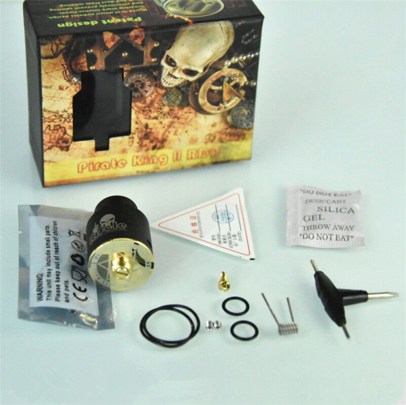 Riscle Pirate King II RDA 24mm Atomizer