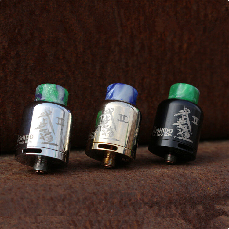 Dovpo Bushido II Pure Flavor RDA 25mm Atomizer Vape
