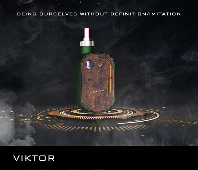 Steampunk Style Curdo Viktor starter kit for hemp cbd oil