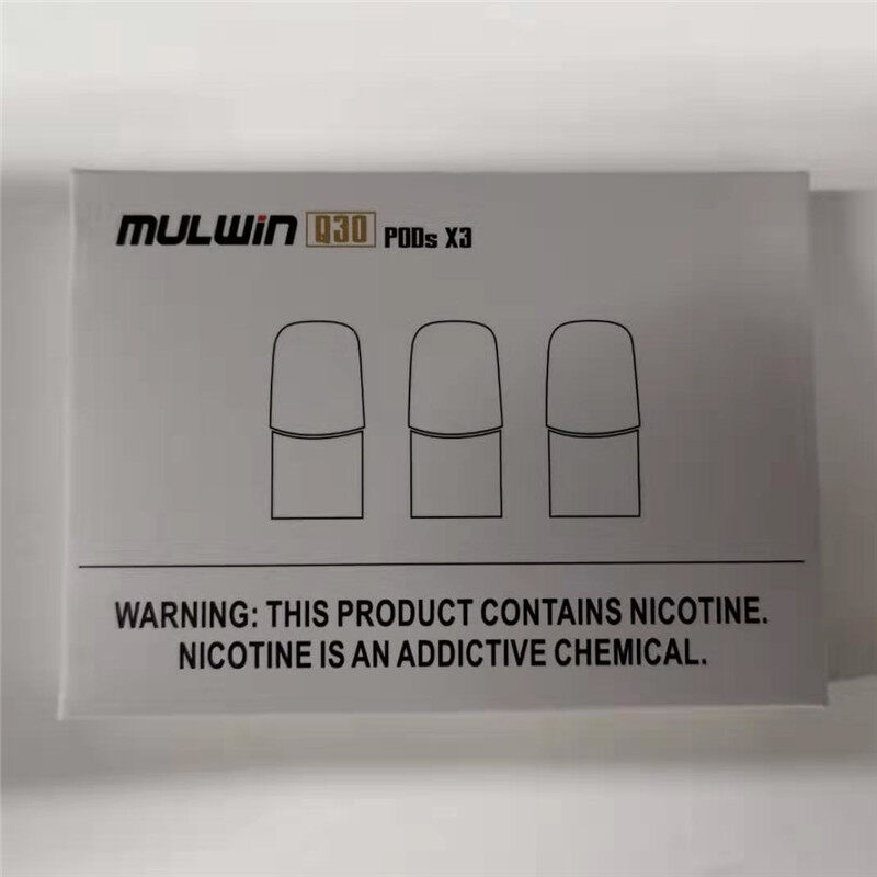 Mulwin Q30 Replacement Pod Cartridge compatible RELX device