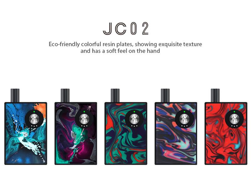Best pod system vape OVNS JC02 starter kit