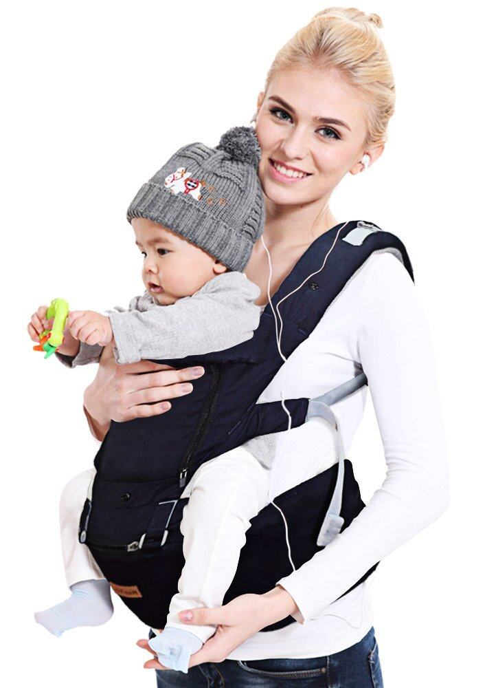 Best Haptim Ergonomic Baby Carrier Backpack With Hip Seat